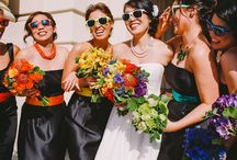 COLOUR! ~ TO HAVE & TO HOLD / Colourful wedding & event flowers. Colourful bouquets, colorful centerpieces, colourful flowers.