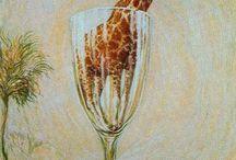 rene magrette giraffe