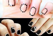 Short Nail Arts / For More Nail Arts For Short Nails @ http://heartjohn.com/