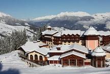 Skiing Valmorel