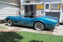 Corvettes Lost / Old and abandoned corvettes / by David Beach