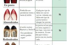 zapatos según la ropa
