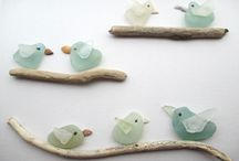 Sea glass projects / by Nancy Bradford