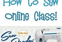 sewing online class