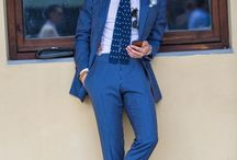 Suited in Blue