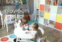 Playroom + Office