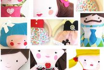 Handcrafts: Rag Dolls