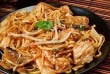 Nouille chinoise à la dinde