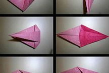 종이접기 방법 Origami diagram
