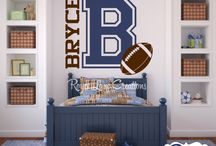 Sports Decor (boys room etc)