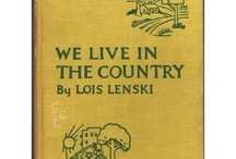 Lois Lenski books I wish I had / Lois Lenski is probably my absolute favorite children's author. Unfortunately most of her wonderful Roundabout America and Regional America series books are out of print.  Once in a while they show up cheap at library book sales.  Often, online, they are too expensive for me.  I sure hope they come back in print one day.