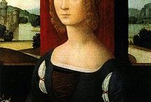 LORENZO DI CREDI / c. 1459 – January 12, 1537) was an Italian Renaissance painter and sculptor. He first influenced Leonardo da Vinci and then was greatly influenced by him.  Born in Florence, he started to work in Andrea del Verrocchio's workshop. After the death of his master, he inherited the direction of the workshop.