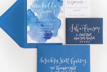 Wedding Invitation Inspiration / Wedding Invitation suites that inspire us.