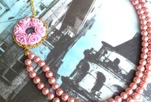 *** Necklace*** / MY handmade necklace. Please follow me. / by HirasuGaleri
