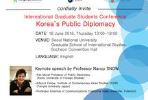 """Korea's Public Diplomacy"" / You are cordially invited to our conference on the topic of ""Korea's Public Diplomacy"""