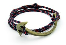 Half-Anchor Cuffs Collection / Fashion men and  women bracelets http://enzokay.com/