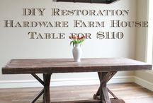 farm table ideas.