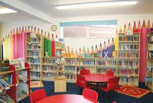 Biblioteci școlare / Ca sa iti fie mai mare dragul sa maergi la scoala si, mai ales, la biblioteca.