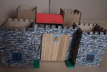 castle / castle made from paper