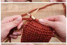lavori di lana con ferri