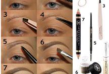 Eye brow tricks