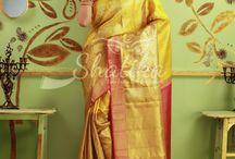Real gold Kanchipuram silk saree