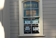 Windows of Main Street and Disney Trivia / Details behind the windows of Main Street, U.S.A., the secrets of the Haunted Mansion tombstone, and other #Disney Trivia / by Jenn - Disney Babies Blog