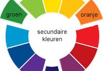 beeldend aspect : kleur