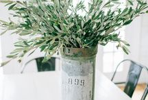 Spring Greenery / We're loving Greenery this season and have some preserved and faux greenery in store to spruce up your home. Visit our store to check out our selection. https://www.jamestdavis.com/