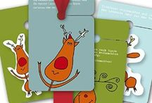 Weihnachts Geschenkanhänger / Die neuen Geschenkanhänger von Kartenkaufrausch mit Engeln, Weihnachtsmännern, Elchen und Co sind da um ihre Geschenke zu verschönern