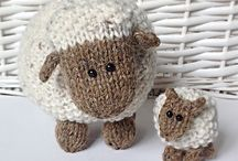 knitting - sheep