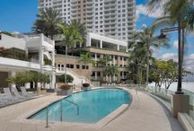 AMENITIES / Residents of Carbonell condominium will enjoy exclusive amenities such as; swimming pool, fitness center, tennis, racquetball and squash courts, business center, full concierge services, valet parking and 24-hour security.