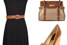 Style - Styling Your LBD / Make your little black dress look different every time you wear it with these great styling ideas.