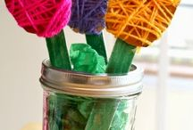 LIBRARY SPRING CRAFT