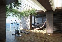 Contemporary home gym