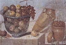 verre romain - iconographie