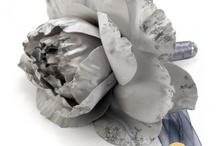 Mariage Argent / Décorations de mariage thème argent, strass - Silver wedding theme / by Artesa Créations