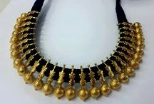 thread gold necklaces