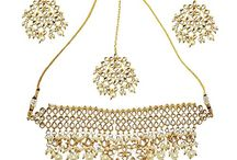 Bridal Kundan Wedding Jewelry Necklace Set