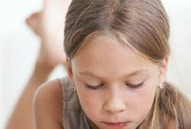 Stress Solutions for Kids / Children are stressed too. Learn simple tips to boost a kid's focus, immune system, and health.