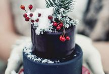 Birthday cake winter