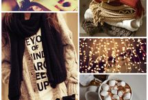 Cozy Inspiration / Finally Winter is here and it's time to lay back in the sofa with a cup of hot chocolate. Relax...