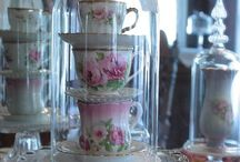 Old style tea party