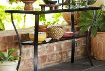 Outdoor patio furnishings and decor