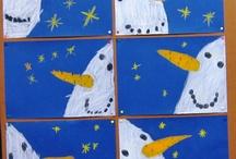 Lumiukot yössä