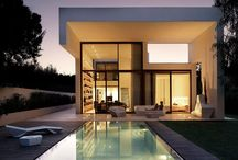 My contemporary side... / Love the sleek, simple lines of modern living!  / by Deanna Nicholson