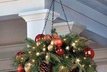 závesné vianočné dekorácie