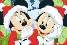 Mickey y Minie Christmaas