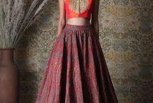 Lehenga skirts and Crop tops▶