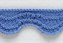 Knitting edges